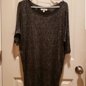 ❤3/$15 zara trafaluc dark grey tunic small